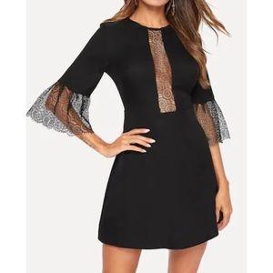 Sexy Circle Lace Dress